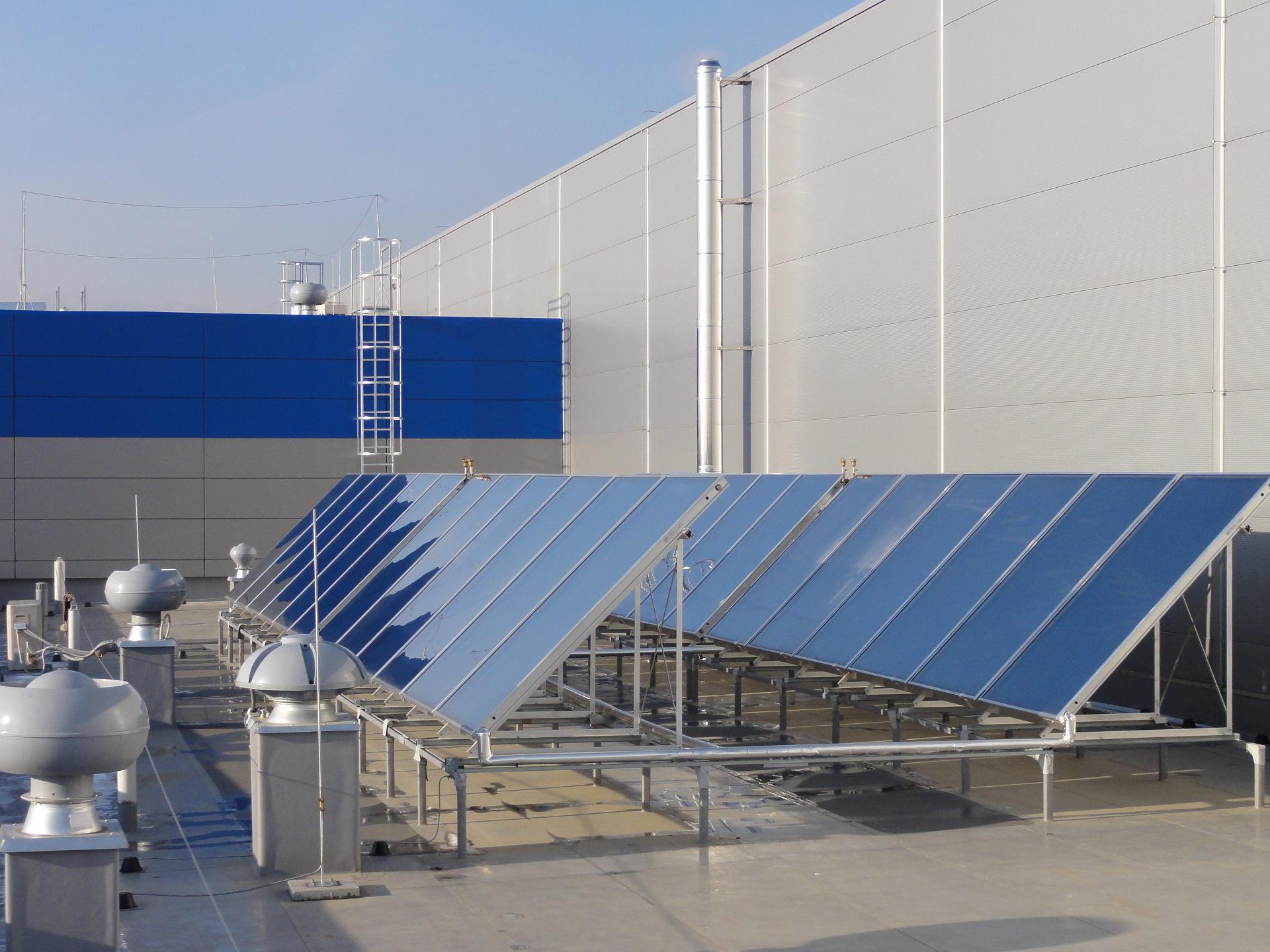 Elektrobudowa Tychy Układ solarny